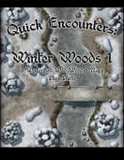 Quick Encounters Winter Woods 1