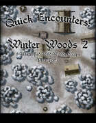 Quick Encounters Winter Woods 2