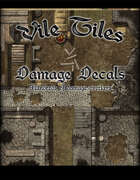 Vile Tiles Damage Decals