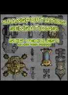 Smokin' Tokens: Scifi Vehicles
