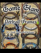 Game Glam Portrait Frames 3
