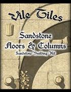 Vile Tiles Sandstone Floors & Columns