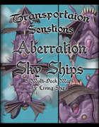 Transportation Sensations Sky Ships