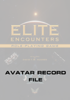 Elite Encounters RPG Avatar Record File