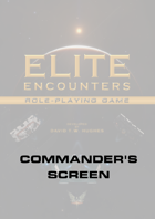 Elite Encounters RPG Commander's Screen