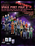 El Cheapo Portraits - Space Port Folk 2