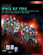 El Cheapo Minis Vol. 11 Space Elf Folk