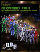 El Cheapo Minis Vol. 14 Mercenary Folk