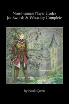 Non-Human Player Codex for Swords & Wizardry Complete