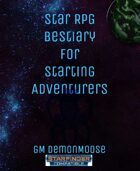 Star RPG Bestiary for Starting Adventurers