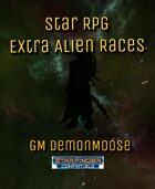 Star RPG Extra Alien Races