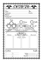Character Sheet - Medievo RPG