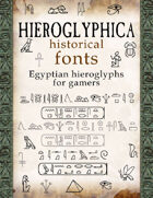Hieroglyphica historical fonts