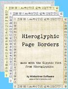 Hieroglyphic Borders