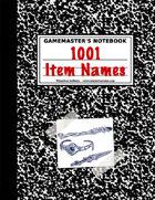 1001 Mystical Magic Names