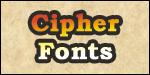 Cipher Fonts