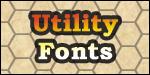 Utility Fonts