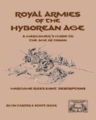 Royal Armies of the Hyborean Age