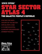 Space Opera: Star Sector Atlas 4: The Galactic People's Republic