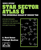 Space Opera: Star Sector Atlas 6: The Hisss