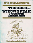 Wild West RPG: Trouble on Widow's Peak