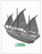Pinacce / Ship for 3d printing