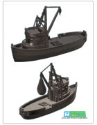 fishing ship /cutter (stl file)