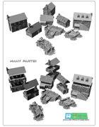 Middle age buildings SET (STL Files)