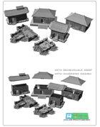 Asian /japan buildings SET (STL Files)