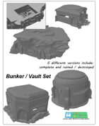 Bunkers SET (STL Files)