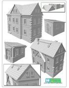House set 2 for 3D printing (STL File)