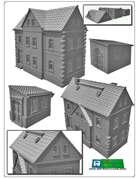 House set 2 for 3D printing (STL File)