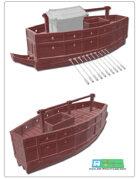 sekubine ship for 3d printing (STL File)