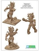 3x Treeman minitures -STL files-
