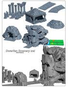 Dwarfen Scenery SET (STL Files)