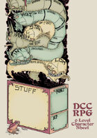 Prosaiko's DCC RPG Sheet 1: 0-Level