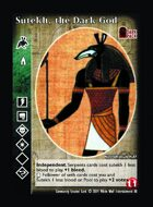 Sutekh, The Dark God - Custom Card