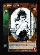 Jenifer Punk - Custom Card