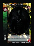 Captain Bol Narros - Custom Card