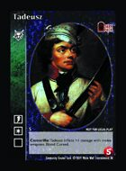 Tadeusz - Custom Card