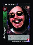 Post Malone - Custom Card