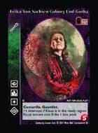 Erika Von Sachsen Coburg Und Gotha - Custom Card