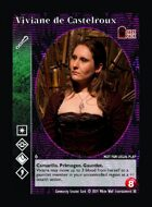 Viviane De Castelroux - Custom Card