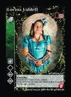 Lorina Liddell - Custom Card