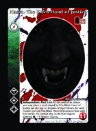 Masso, The Black Hand Of Justice - Custom Card