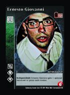 Ernesto Giovanni - Custom Card