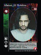 Simon, El Maldito - Custom Card