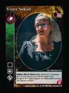 Ester Sokol - Custom Card