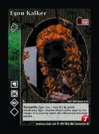 Egon Kalker - Custom Card