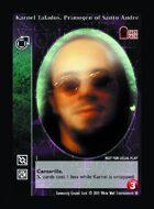 Karnel Talados, Primogen Of Santo André - Custom Card